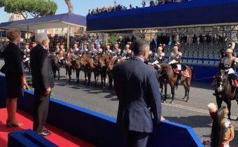 Festa della Repubblica: gli onori al Presidente Sergio Mattarella