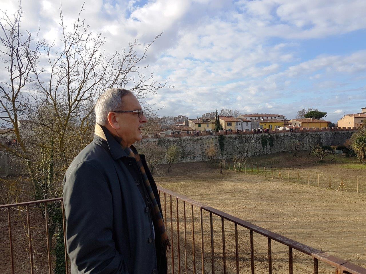 Paolo Fontanelli percorso Mura Pisa (1)