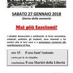 Mai Più fascismi Pisa