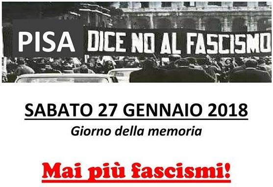 Mai Più fascismi Pisa R
