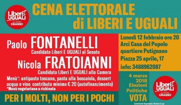 Cena Putignano FRATOIANNI FONTANELLI 12 02 18 oriz