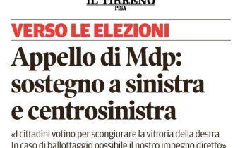Appello MDP Pisa