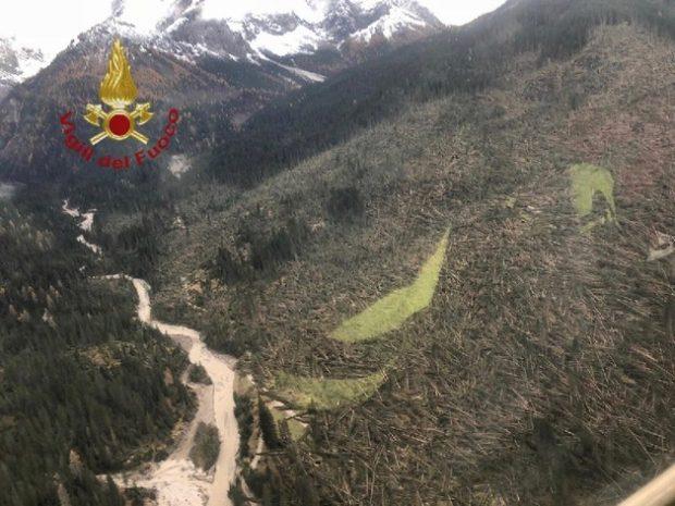 Disastro boschi Dolomiti