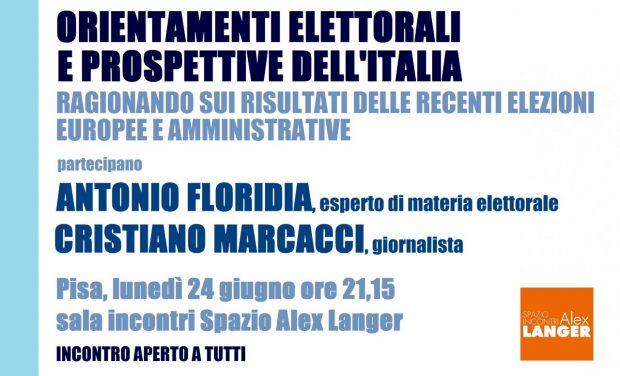 ORIENTAMENTI ELETTORALI Floridia Marcacci 24 giug