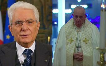 Mattarella Papa Francesco