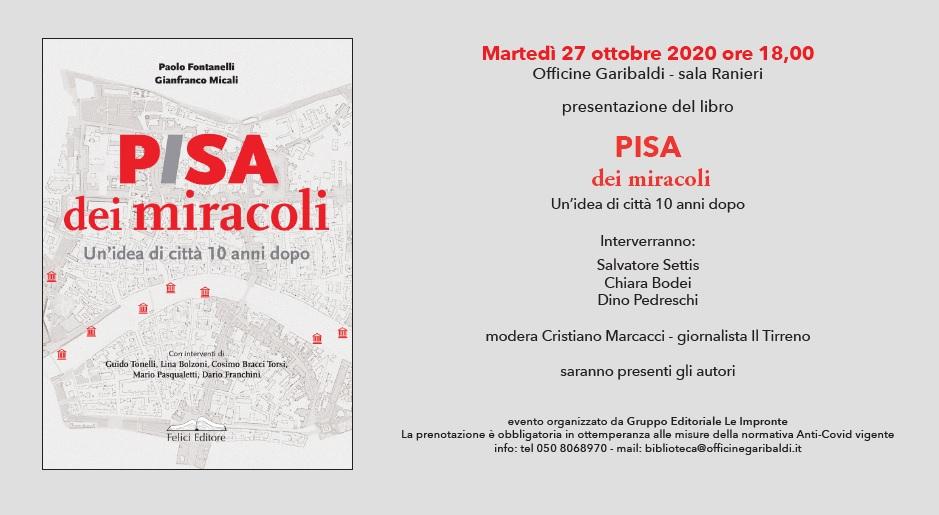 Pisa dei Miracoli 27 ottobre