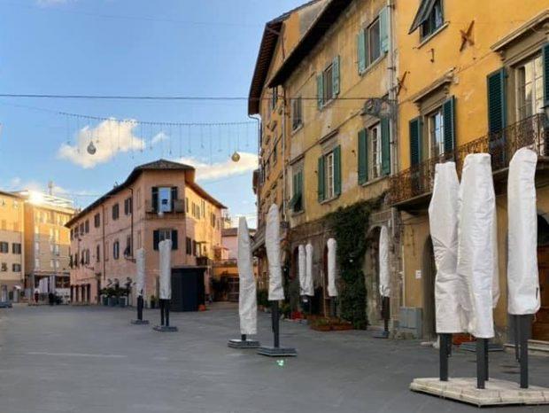 Via Santa Maria Pisa Covid