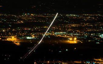 Aeroporto Peretola notte