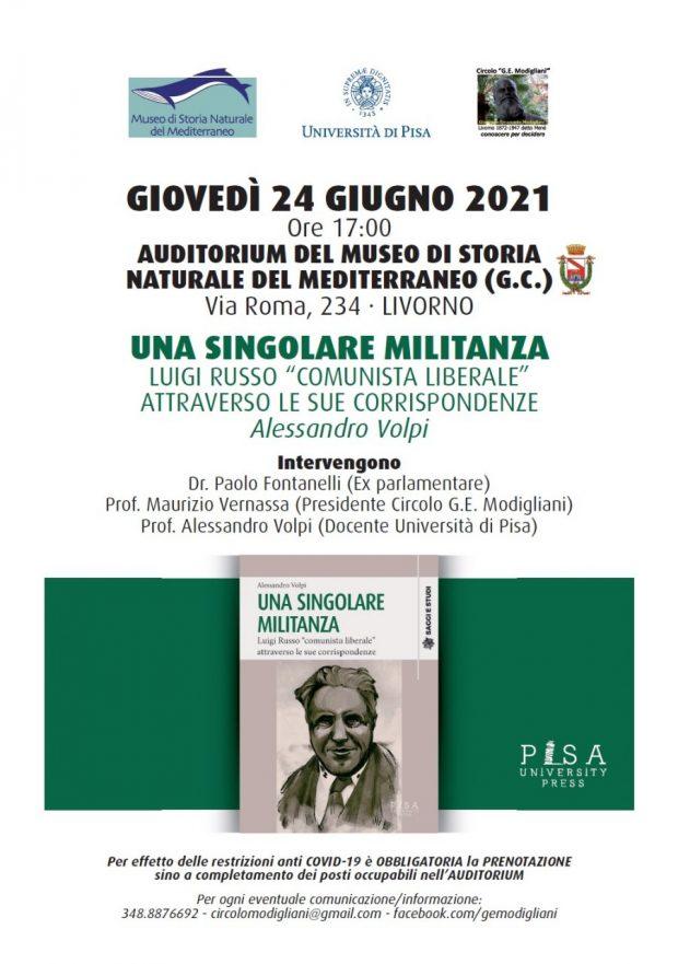 UNA SINGOLARE MILITANZA - Fontanelli Vernassa Volpi